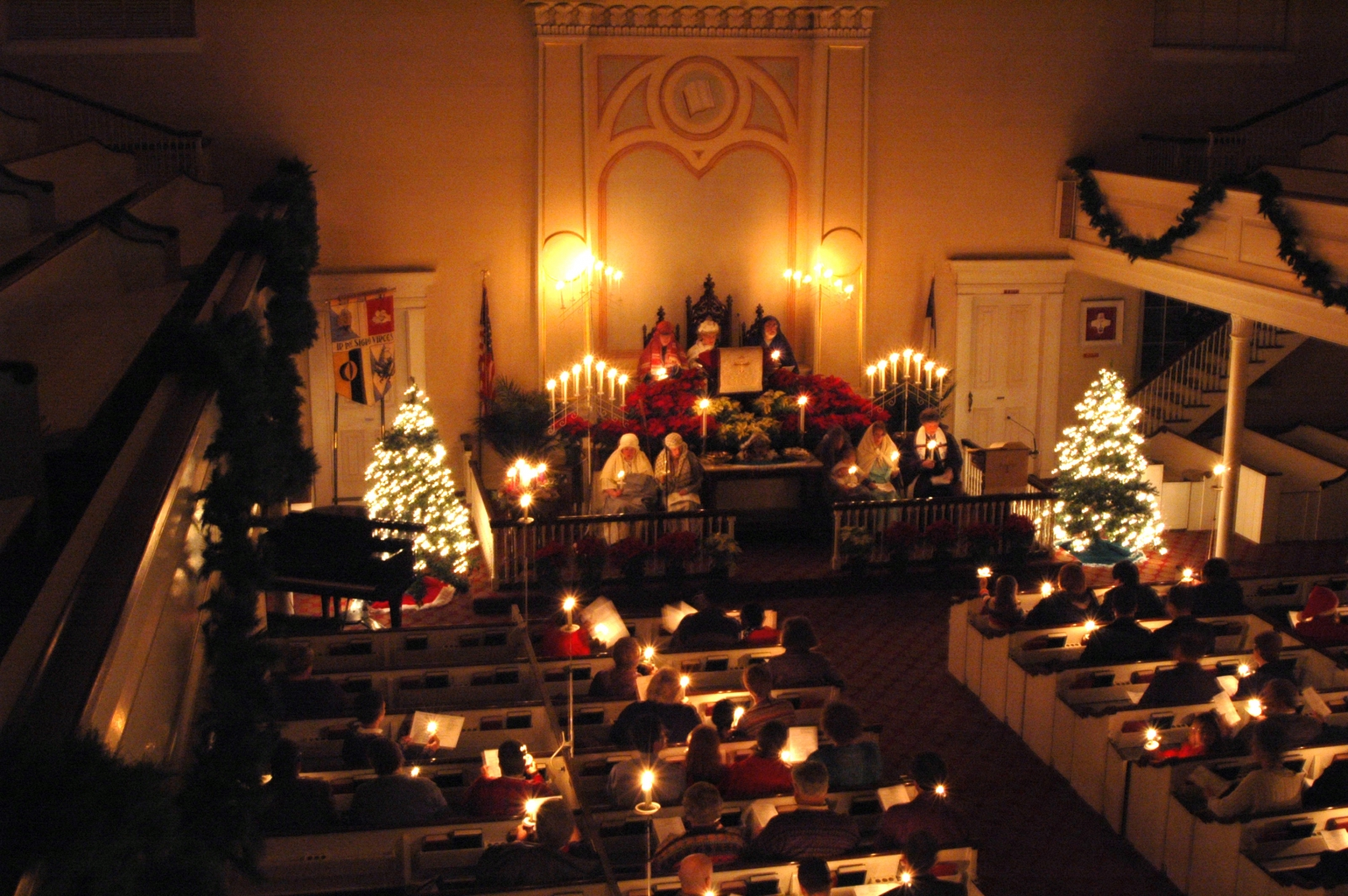 Christmas decoration for church sanctuary joy studio for Advent decoration ideas