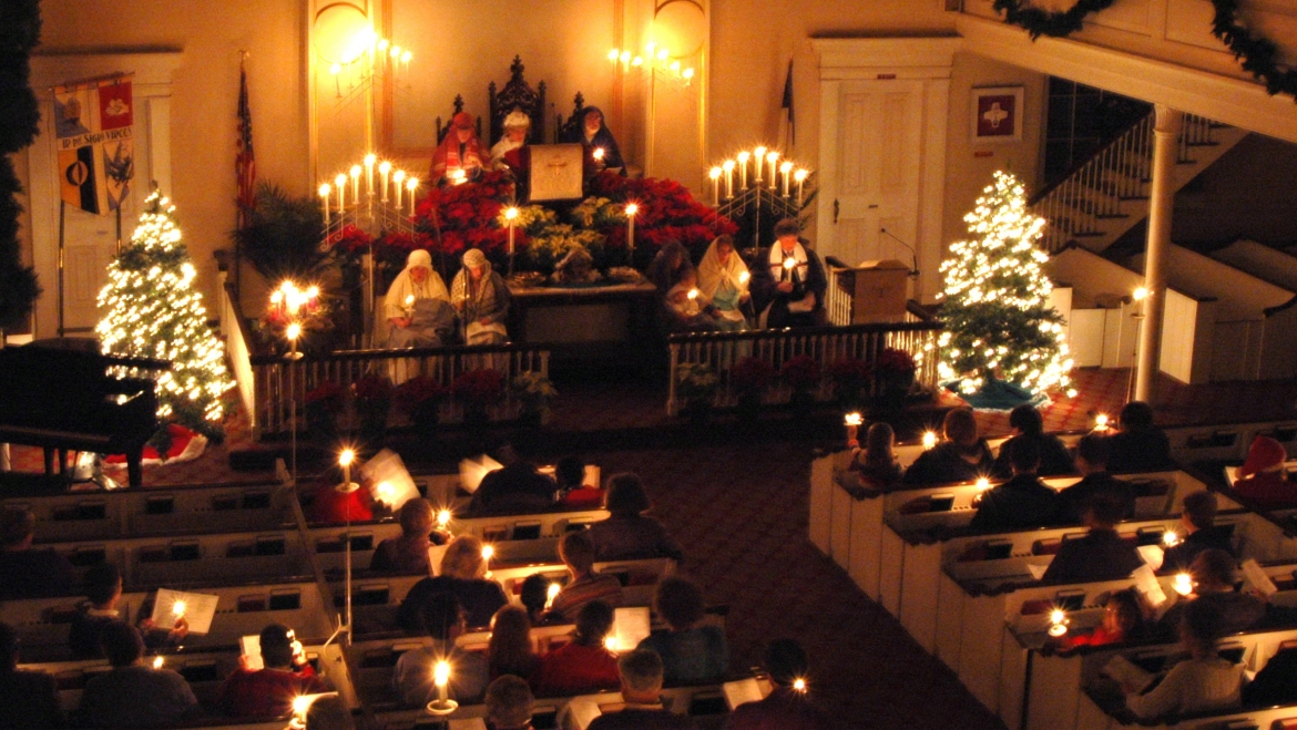 Journey from Advent to Christmas at Old First!