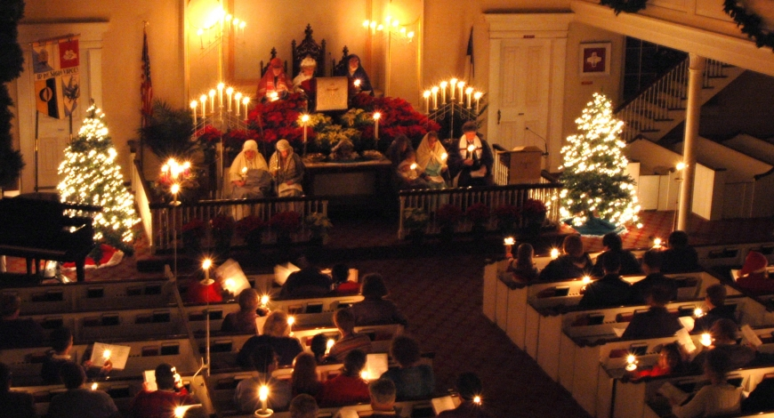 Advent and Christmas at Old First!