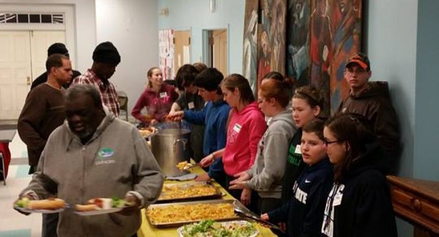 Opening Night Shelter Dinner