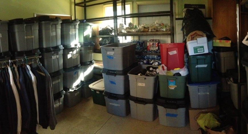 Our Clothing Shed Has Yet to be Empty