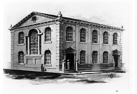 old first history 1772 building