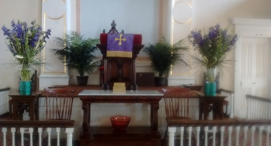 Thanks, Jane, for the Beautiful Flower Arrangements!