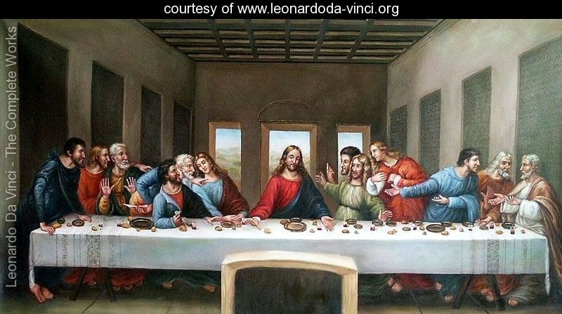 The Last Supper at Home…