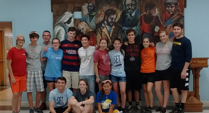 Welcome Service Camps, July 30 and 31