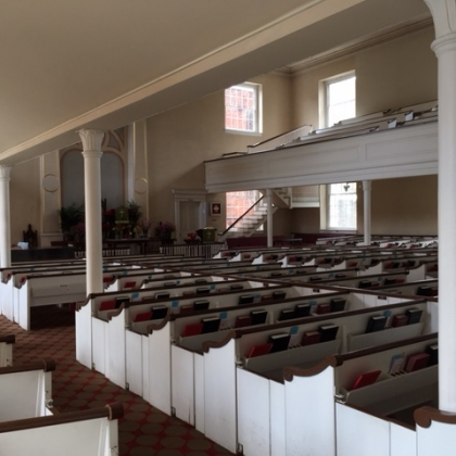 What's the Story Behind the Columns in the Sanctuary?