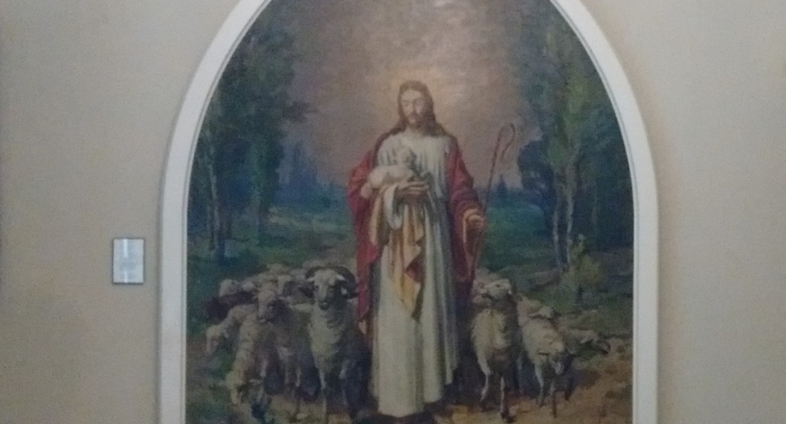 The Good Shepherd Painting