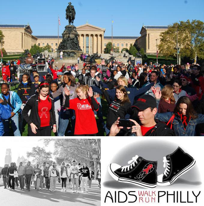 Philly's AIDS Walk/5k, Sun. 10.15