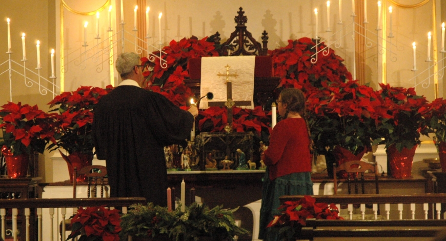 Music for Christmas Eve Candlelight Service, 8pm