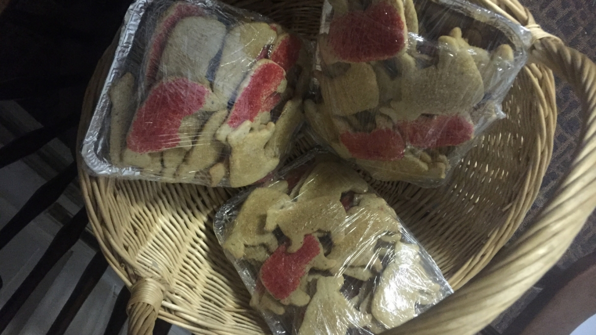 Cow Cookies for the Cops, the Fire House and the Wyndham