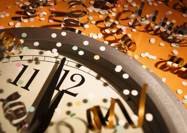 New Year's is just one more day. Another, random 24 hours.