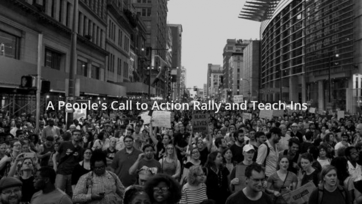 POWER and the MLK DARE coalition…  A Call to Action Rally and Teach-Ins