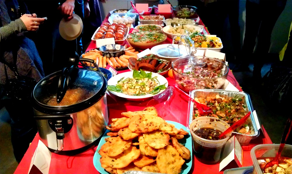 Annual Meeting Potluck Luncheon, 1.28 — Come to the table