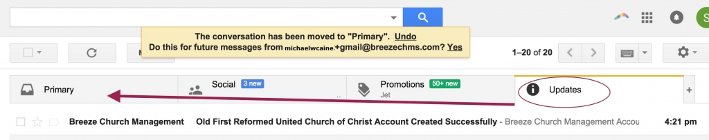 Welcome to Breeze! Our new online member directory | Old First