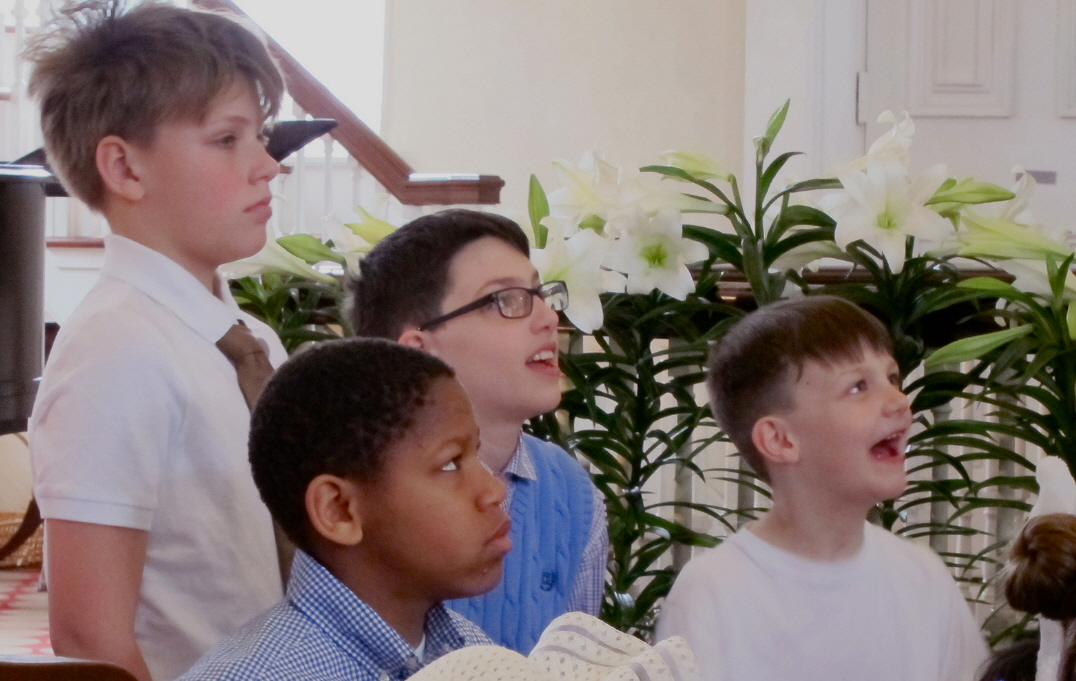 LAST CHANCE:  Children's Choir Easter rehearsal!  March 25th & Easter Sunday Morning