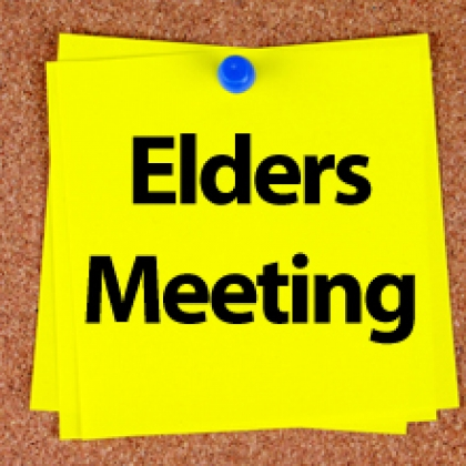 Elder's Corner: Highlights from their Mar. 2018 Meeting