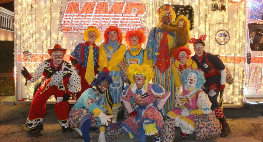 Matt Campus Clowns Staying this Week
