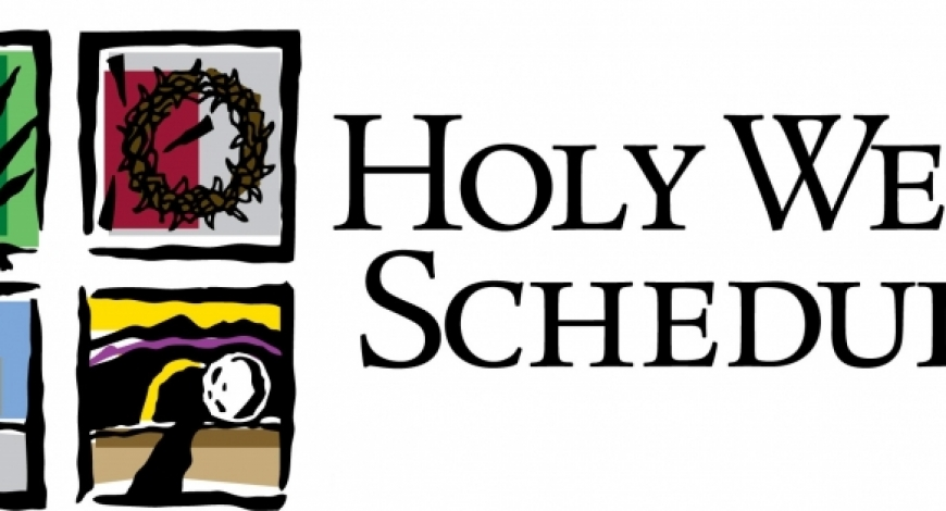 Holy Week Services: