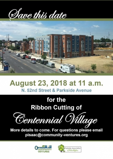 Community Ventures Ribbon Cutting, Thur, Aug 23 @ 11am