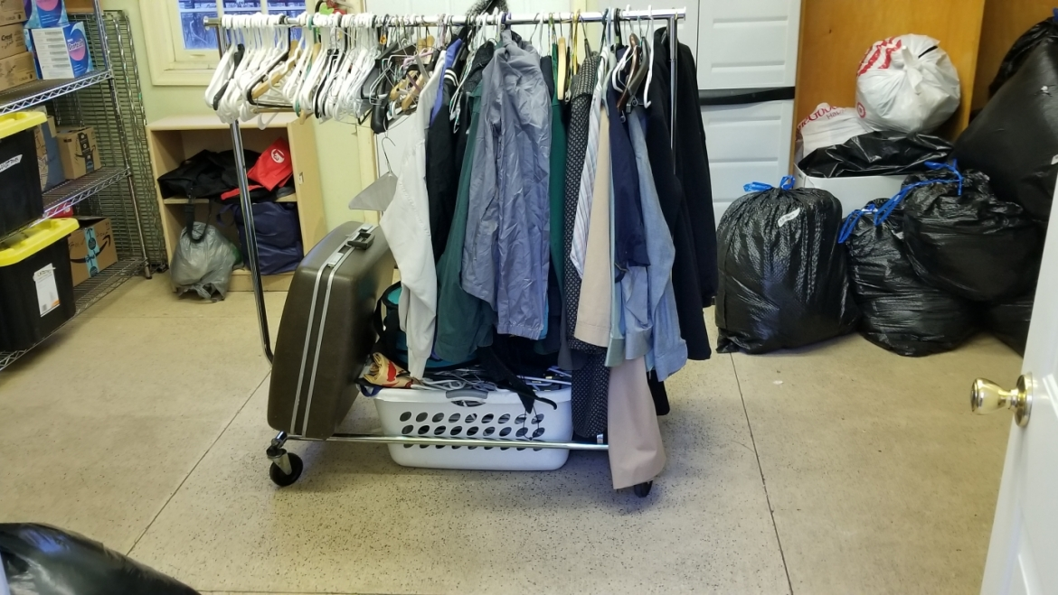 Our Clothing Cupboard Needs Help Airing Out Winter Clothes