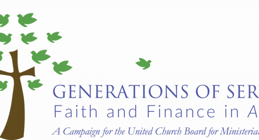 "Old First Will Contribute $2,500 to the ""Generations of Service"" Capital Campaign"