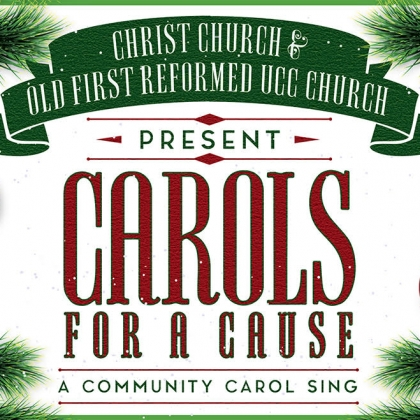 Carols for a Cause, Sunday, Dec. 22 at 5:30pm