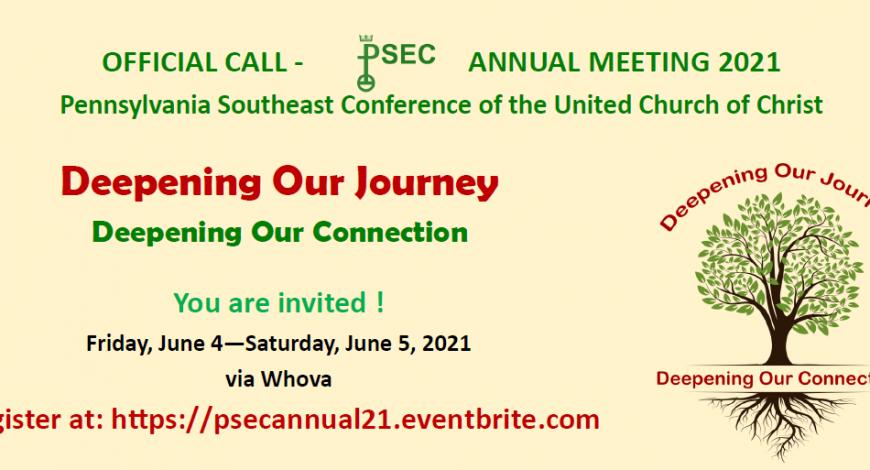 PSEC Annual Meeting, June 4-5, 2021