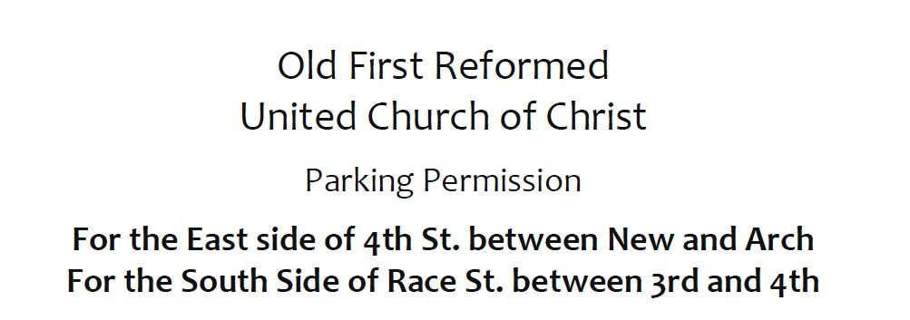 2021 Parking Placard