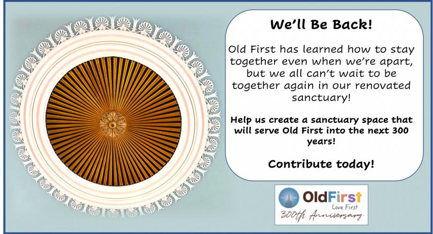 Sanctuary Renovations: Contribute today!